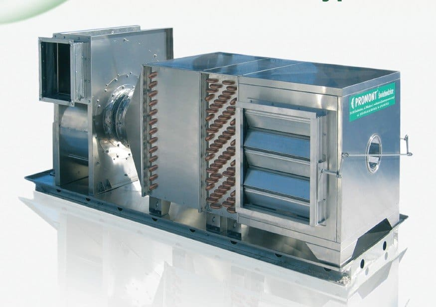 Mushroom aggregate - air handling unit
