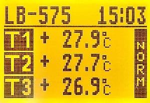 LB-575 LCD T1, T2, T3
