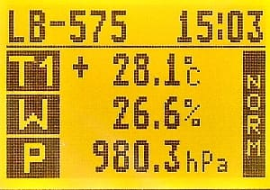 LB-575 LCD Temperature, Humidity, Pressure