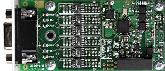 LB-499-ADC - Fast accurate A / C converter 24 bit