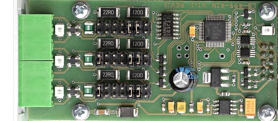 LB-499-AIN - The input module for 3 additional sensors