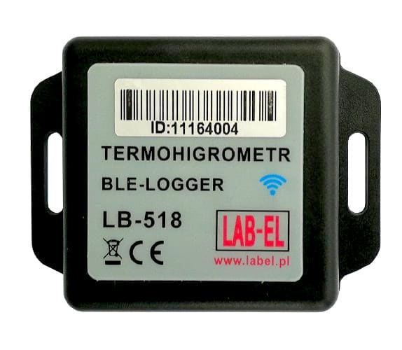 Temperature & Humidity Recorder with Bluetooth BLE - LB-518