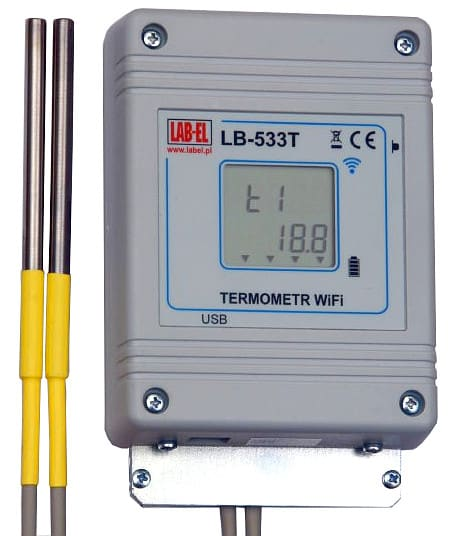 LB-533T WiFi Wireless Quad-Channel Thermometer