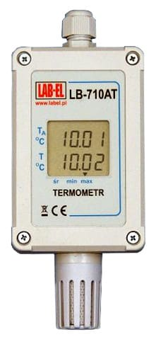 Precise LB-710ATF thermometer with an accuracy of 0.01°C