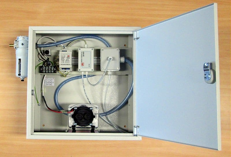 Installation box LB-769W for system CO2 measurement.