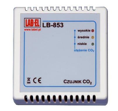LB-853 carbon dioxide concentration meter and regulator