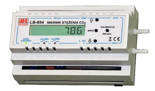 CO2 Concentration Meter & Regulator - LB-854