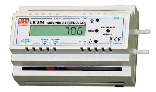LB-854 CO2 concentration meter/regulator