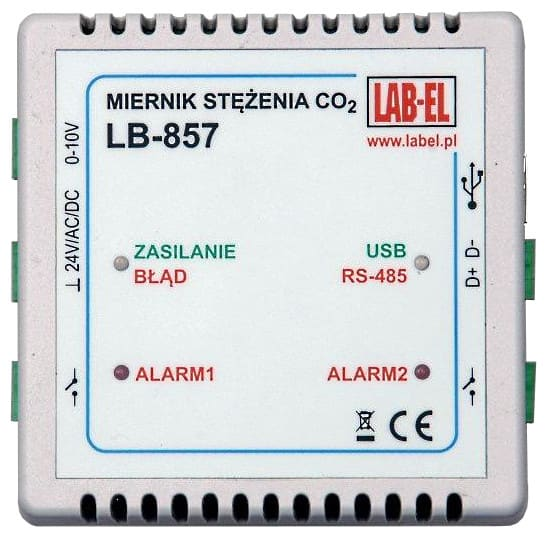 High CO2 Concentration Meter and Regulator - LB-857