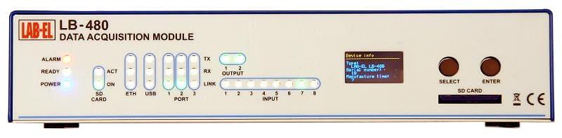 LB-480 temperature recorder, humidity recorder