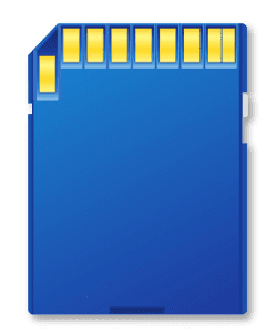 LB-480 and LB-490 - Saving measurements on a memory card