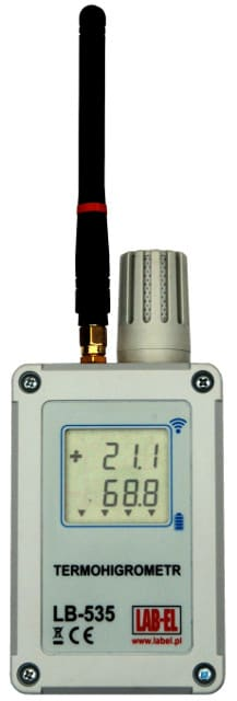 LB-535 wireless thermo hygrometer, wireless recorder