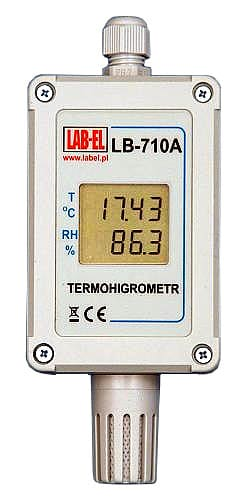 Industrial Thermometer & Hygrometer - LB-710A