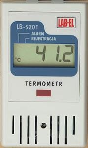 LB-520T thermometer with recording